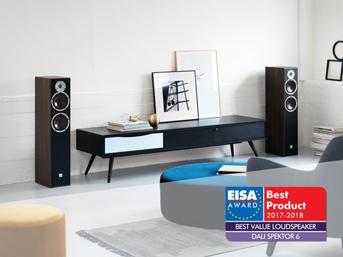 "DALI SPEKTOR 6 receives an EISA Award for ""Best Value Speaker"""