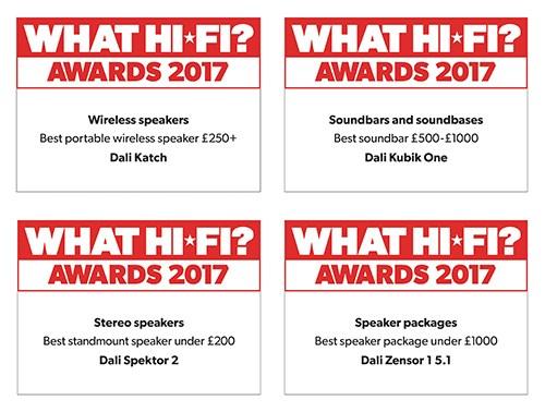 WHAT HI-FI Awards 2017